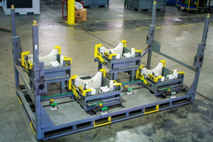 Engine Shipping Rack