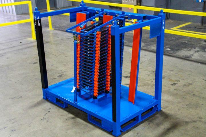 Glass Shipping Rack