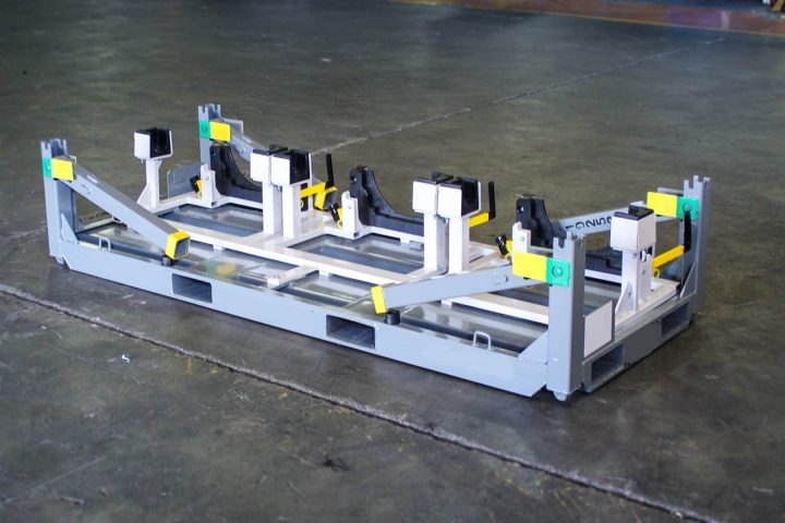 Collapsible Steel Engine Rack
