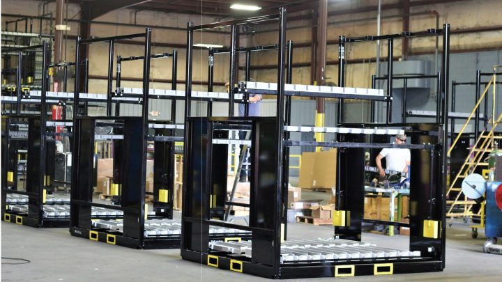 8FT Tall Shipping Racks