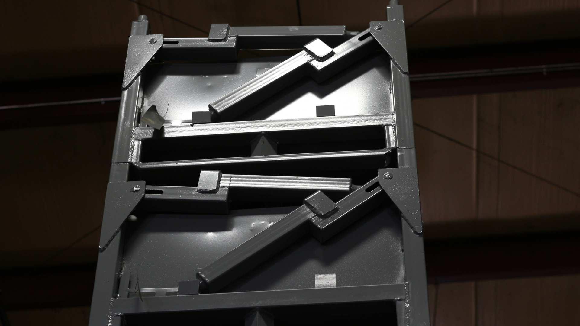 Metal Bulk Bin