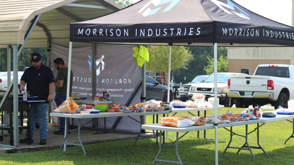 Morrison Industries Grilling Out