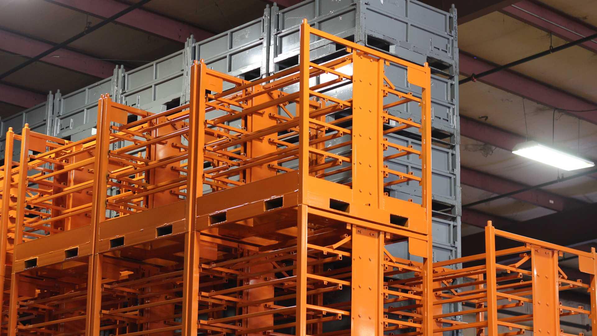 Returnable Shipping Racks